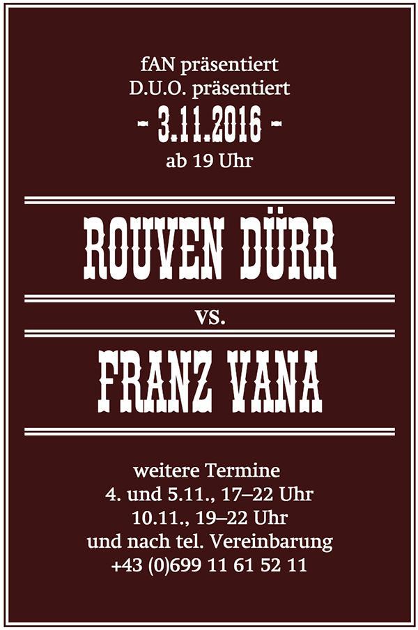 Rouven Dürr vs Franz Vana