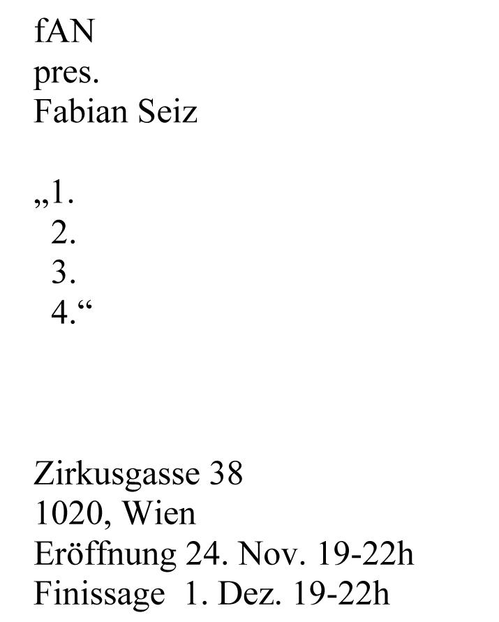 """1.2.3.4."" Fabian Seiz, 2016"